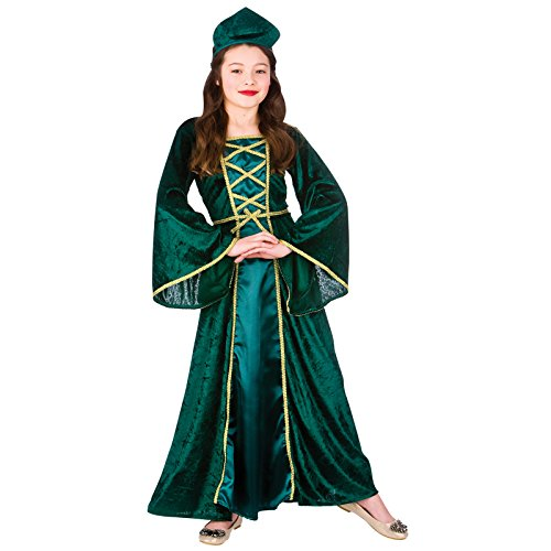 Medieval / Tudor Princess (11-13) Girls Fancy Dress Historical Costume