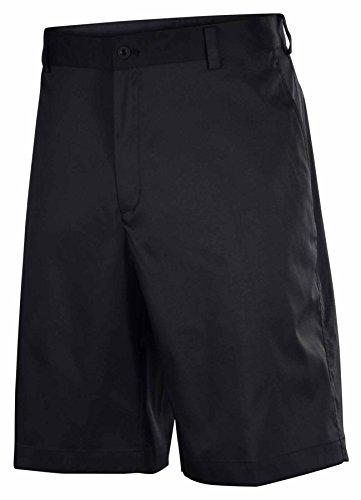 Nike Mens Dri-Fit Flat Front Tech Golf Shorts-Black-38