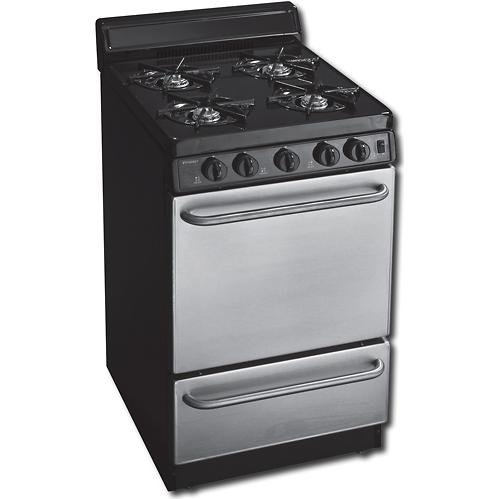 2.42 Cu. Ft. Gas Range in Stainless Steel ()