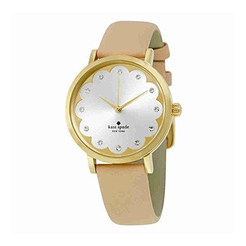 Beige Leather Watch - 7