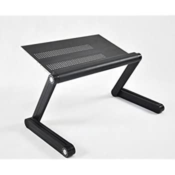 amazon com adjustable vented laptop table laptop