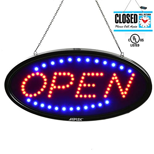 outdoor open sign - 5