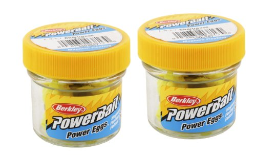 Berkley FEC PowerBait Power Eggs Floating Magnum, Chartreuse, 0.5-Ounce, Outdoor Stuffs