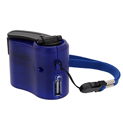 Portable Hand Crank Wind Up USB Cell Phone Emergency Charger For Camping Hiking - Wind Up Charger