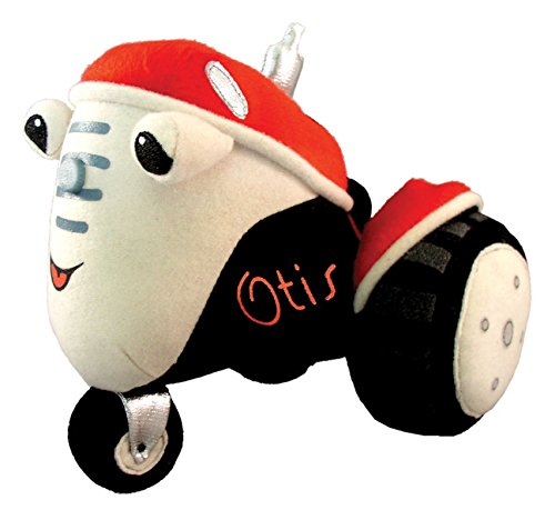 MerryMakers Otis the Tractor Plush Toy, 7-Inch (Tractor Plush)