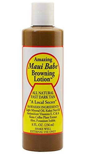 Maui Babe Variety Beach Pack Browning Lotion 8 oz, After Browning Lotion 8 oz, and SPF 30 Sunblock 8 oz