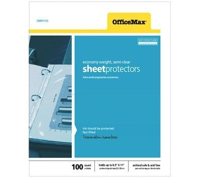 officemax-top-load-poly-sheet-protectors-11-x-8-1-2-standard-clear-24-mils-100-box