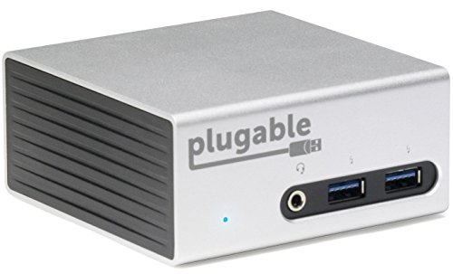 Plugable Universal Docking Ethernet Aluminum