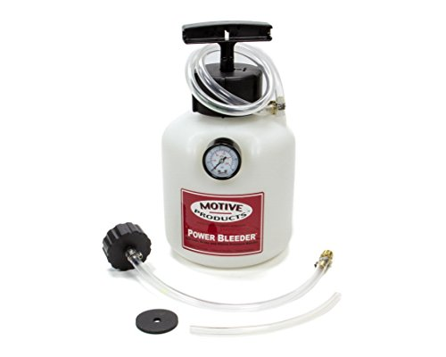 Motive Products, European Power Brake Bleeder, 0100, Hand Pump Pressure Tank with Adapter