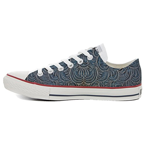 Converse All Star Hi chaussures coutume (produit artisanal) Spake Paisley