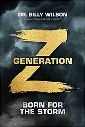 Gen Z: Born for the Storm book front jacket cover