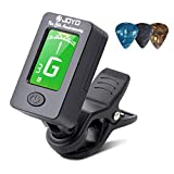 Best Clip On Tuners - BROTOU Guitar Tuner Clip-On Tuner Digital Electronic Tuner Review