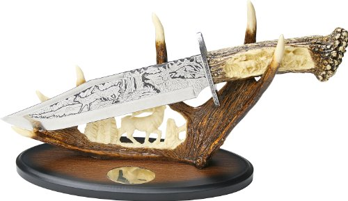 BladesUSA WC-23D Wildlife Knife Collectible 15.25-Inch Overall