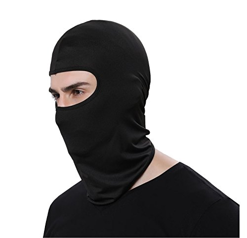Helmet Liner Mask,Balaclava Windproof Ski Mask - Cold Weather Face Mask For Running, Mountain Climbing, Tactical Training, Skiing, Snowboarding, Motorcycling, Black