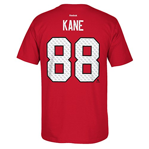 Patrick Kane Chicago Blackhawks Reebok Tri-Blend Matrix Name And Number T-Shirt (Red) Large