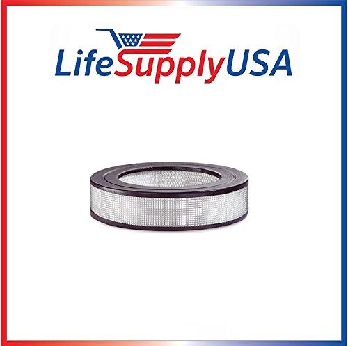 LifeSupplyUSA 2 HEPA Filter fits Honeywell HRF-D1 HRF-11N D Filter Silentcomfort HWLHRF1 10500 17000 20500 10590 50100 20590
