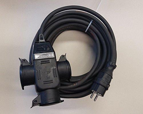 Cable alargador (exterior) H07RN-F 3x 2,5hembra de 3Vías IP44a partir de 2m Negro, 30m, 1 TqLiA9kz