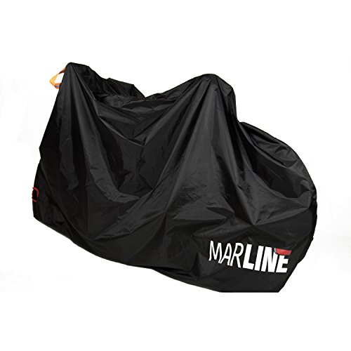 MarLine Bike Cover Outdoor Waterproof Bicycle Cover Dust Snow Proof with Lock Hole and Reflective Straps by Marline (Image #2)