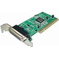 LINDY 2 Port Serial and 1 Port Parallel Low Profile Card PCI (51327)