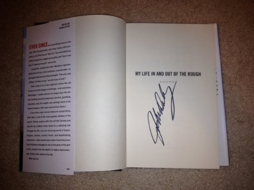 - John Daly Autographed Book My Life in & Out of the Rough