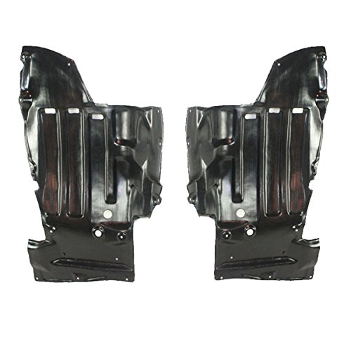 For 00-05 Celica Front Engine Splash Shield Under Cover Guard Left & Right PAIR Aftermarket Auto Parts