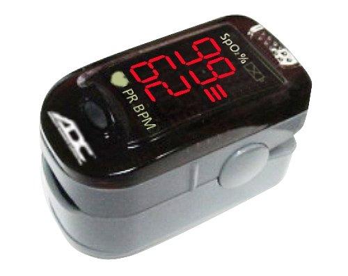 ADC Advantage 2200 Digital Fingertip Pulse Oximeter, Black, Adult by ADC (Image #1)