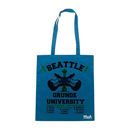 Borsa Seattle Grunge University - Blu Royal - Music by Mush Dress Your Style