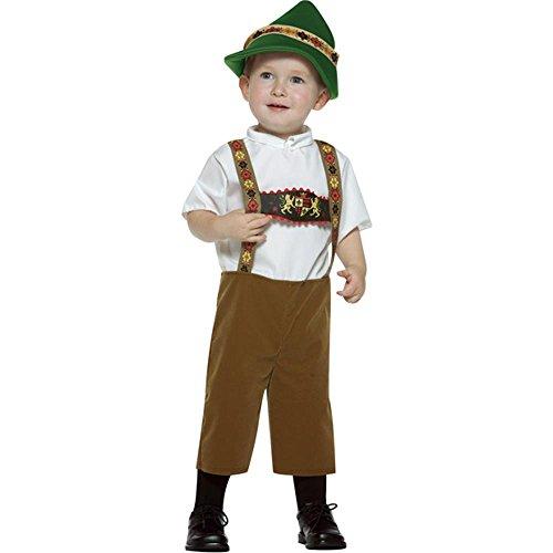 Toddler German Boy Costumes - Child's Toddler Lederhosen Boy Costume