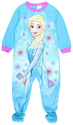 Disney Frozen Elsa Girls Toddler One Pc Footed - Frozen Footed Pajamas 2t