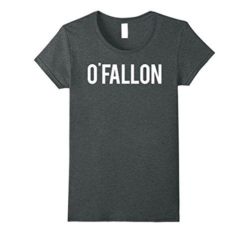 Womens O'Fallon T Shirt Cool Missouri MO city funny cheap gift tee Medium Dark Heather -