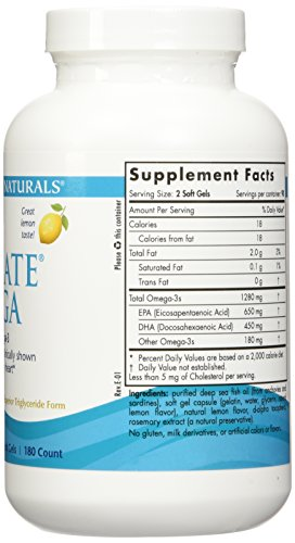 Nordic Natural Ultimate Omega 360 count - (2 pack of 180 per bottle) by Nordic Naturals (Image #4)'