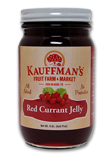 Kauffman's All-Natural Red Currant Jelly, 9 Oz. Jar
