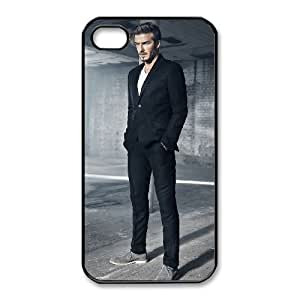 David Beckham-002 For iphone 4 4s Cell Phone Case Black Protective Cover xin2jy-4325435
