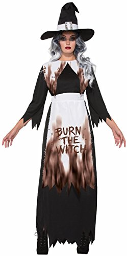 Forum Women's Smokin' Salem Witch Costume, Multi/Color, One Size