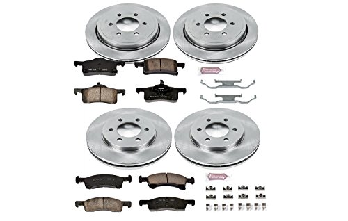 - Autospecialty KOE1934 1-Click OE Replacement Brake Kit