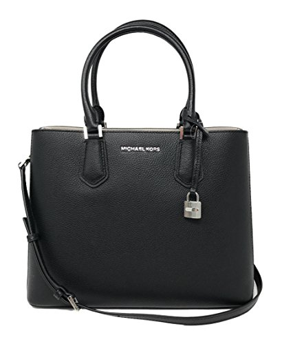 Michael Kors Adele Large Leather Satchel