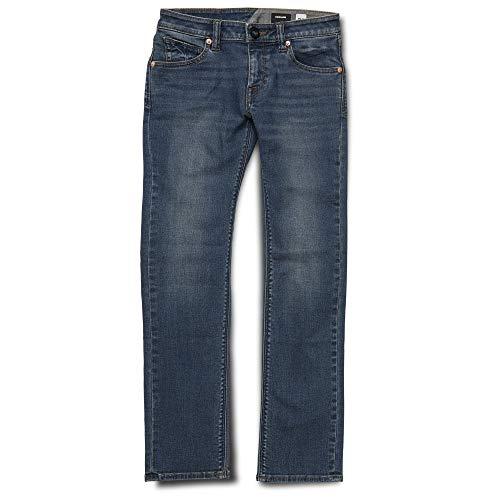 Volcom Big Boy's Kinkade Stretch Denim Jean, dust Bowl Indigo 29 ()