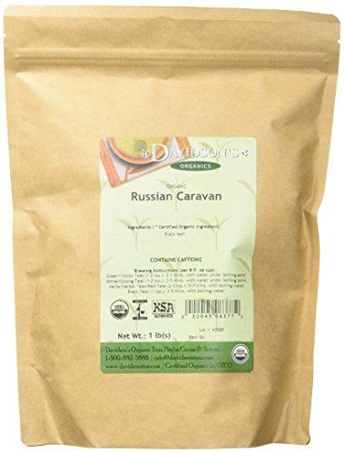 Davidson's Tea Bulk, Russian Caravan, 16-Ounce Bag (Russian Caravan Black Tea)