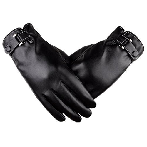 Yingniao Men's Touchscreen Texting Winter Leather Dress Driving - Motorcycle Travel Gloves