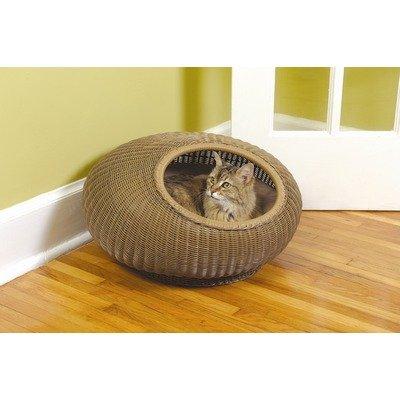 Decorative Cat Pod in Medium Brown, My Pet Supplies