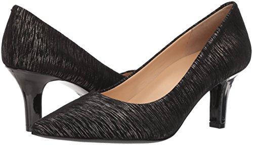 Eu Black Femmes Trotters Noir Chaussures Talons 37 metallic Couleur À 6 Taille URAv1pU