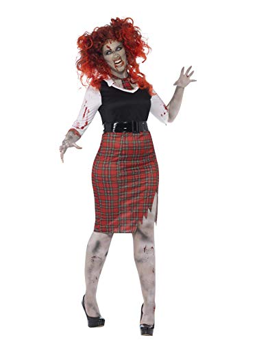 Smiffys Curves Zombie School Girl Costume]()