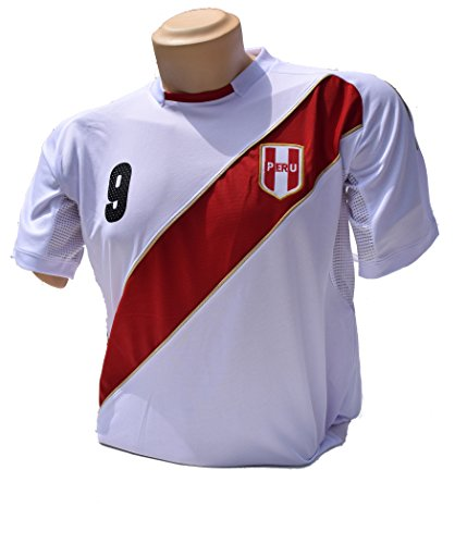 PERU Soccer Jerseys for 2018 Russia World Cup Size .one hundred% Polyester .Help Your Team during Soccer World Championship – DiZiSports Store