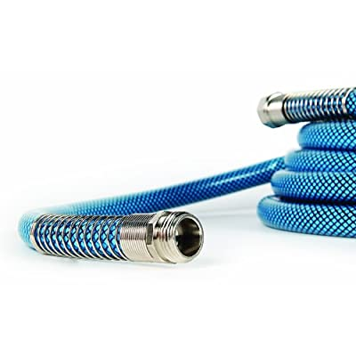 Camco 10ft Premium Drinking Water Hose - Lead and BPA Free, Anti-Kink Design, 20% Thicker Than Standard Hoses 5/8