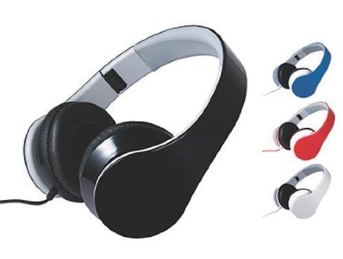 Craig Electronics CHP5009BL Foldable Stereo Headphones, Blue