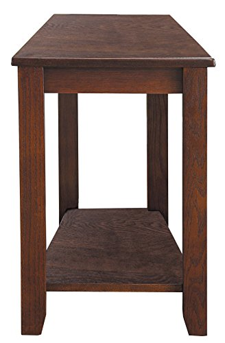 Amazon Com Homelegance Elwell Wedged Chairside Table