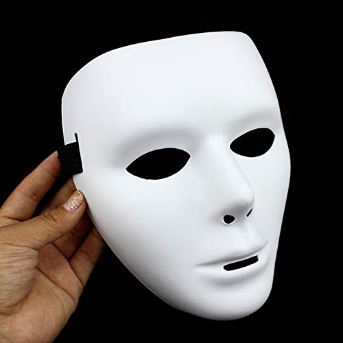 Mask Party - 1pc Cool Pvc Halloween Kamen Rider Ghost Dance Hip Hop Mask White Night Lights Party Props - Light Mask White Masks Facial Party Masks Mask Hiphop Neon Cool Bluetooth Intercom Hal ()