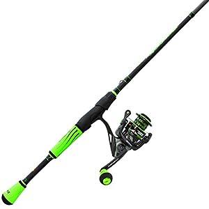 "Lew's Fishing M23069MFS Lews Fishing, Mach II Spinning Combo, 6.2: 1 Gear Ratio, 10 Bearings, 6'9"" 1Piece, Medium/Fast Power. Ambidextrous by Green Supply"
