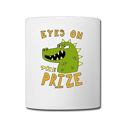 AiguanEyes On The Prize Dinosaur 11oz Tea Cup Coffee Mug -