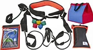 Cintz Power Kit - Harness, Speed Chute, Ankle speed band, Reaction ball, Evasion belt, Power Jumper, Skipping rope, free bag